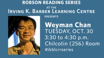Weyman Chan – Chinese Blues at Chilcotin Room, IKBLC, October 30, 3.30pm