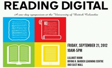 The Art and Science of Digital Reading, September 21, 2012
