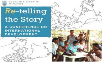 """Re""-Telling the Story: A Conference on International Development"