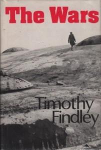 alumni UBC Book Club – The Wars by Timothy Findley