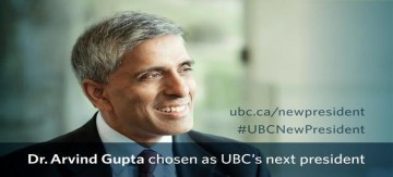 UBC Welcomes our 13th President and Vice Chancellor