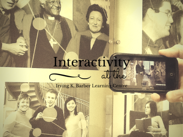 Interactivity at the Irving K. Barber Learning Centre