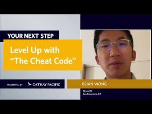 "Your Next Step: Level Up With ""The Cheat Code"""