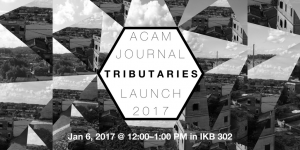 ACAM Journal Launch – Tributaries