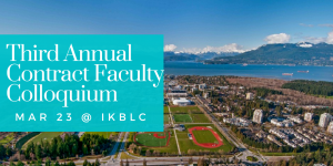 Third Annual Contract Faculty Colloquium