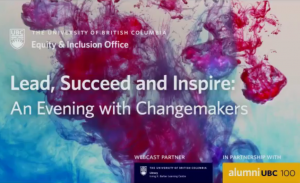 Lead, Succeed, and Inspire: An Evening with Changemakers