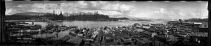 Panorama of Coal Harbour VPL Accession Number: 48480 Date: 1921 Photographer/Studio: Unknown